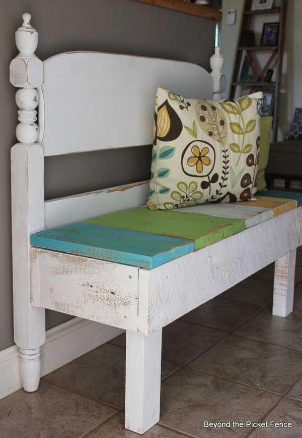 Bench with storage. Allow you to store books, shoes and other items in the bench, and sit on it while having the supply's in the compartments.