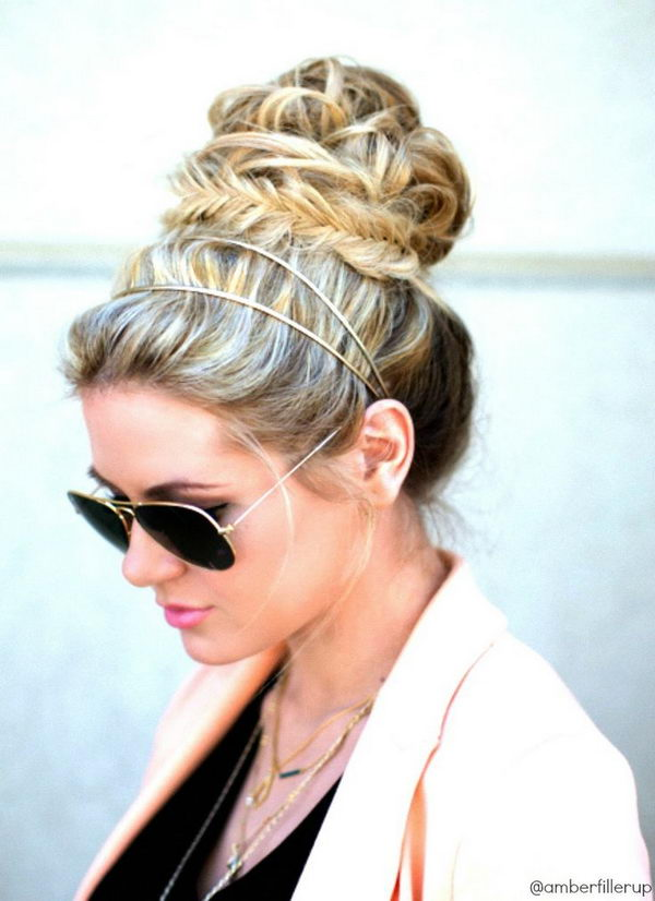 Cool Hairstyles with Headbands for Girls.