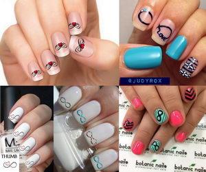 Infinity Nail Designs