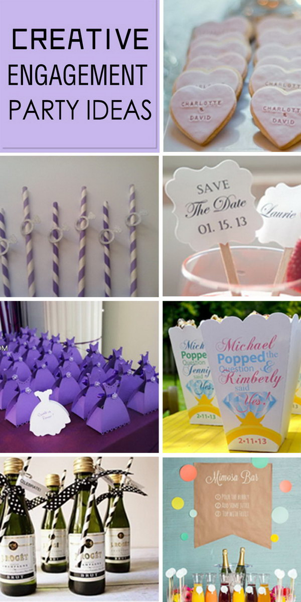 Creative Engagement Party Ideas!