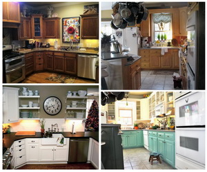 Tremendous Before And After 25 Budget Friendly Kitchen Makeover Ideas Home Interior And Landscaping Ologienasavecom