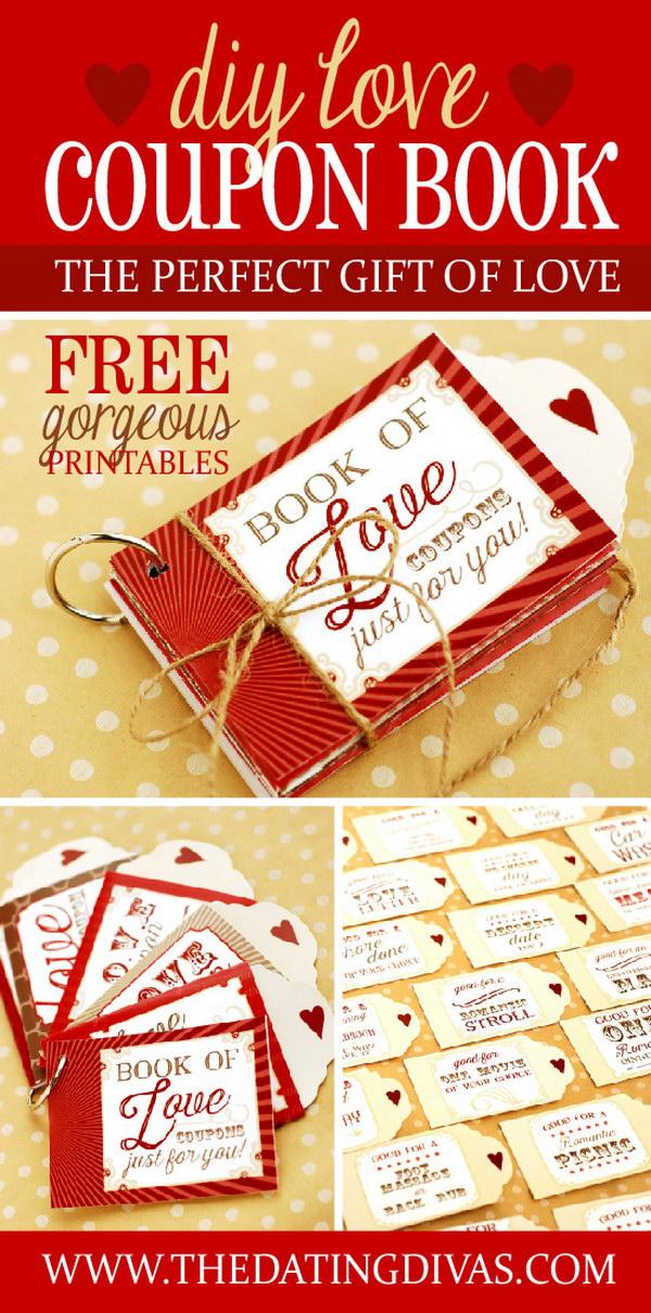 DIY Love Coupon Gift Idea.