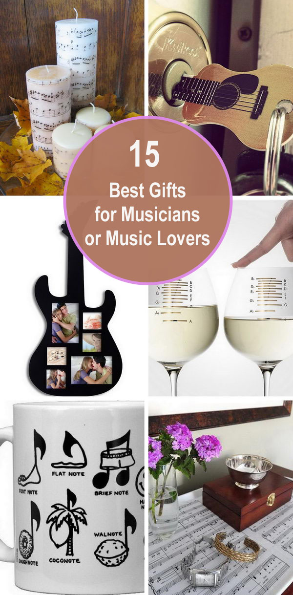 15 Best Gifts for Musicians or Music Lovers.