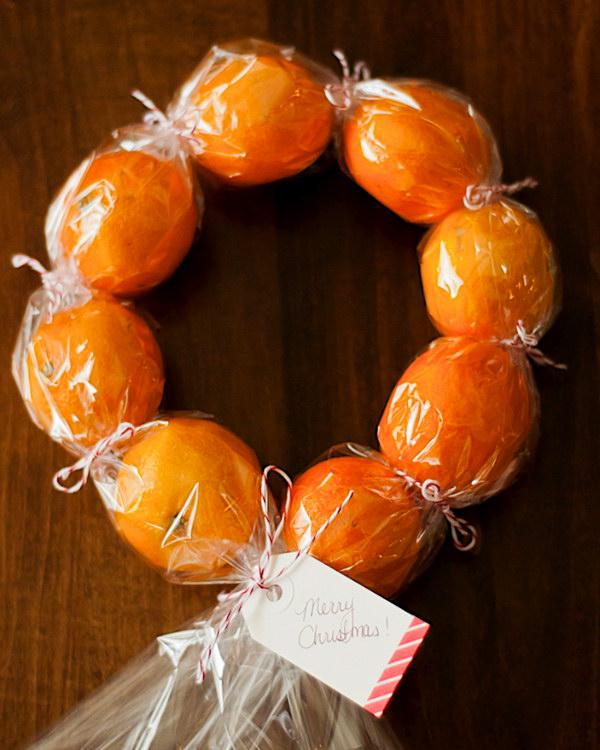 DIY Clementine Wreaths