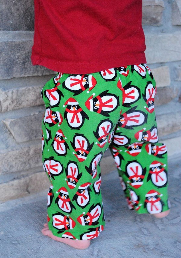 Adorable DIY Pajamas with Free Pattern