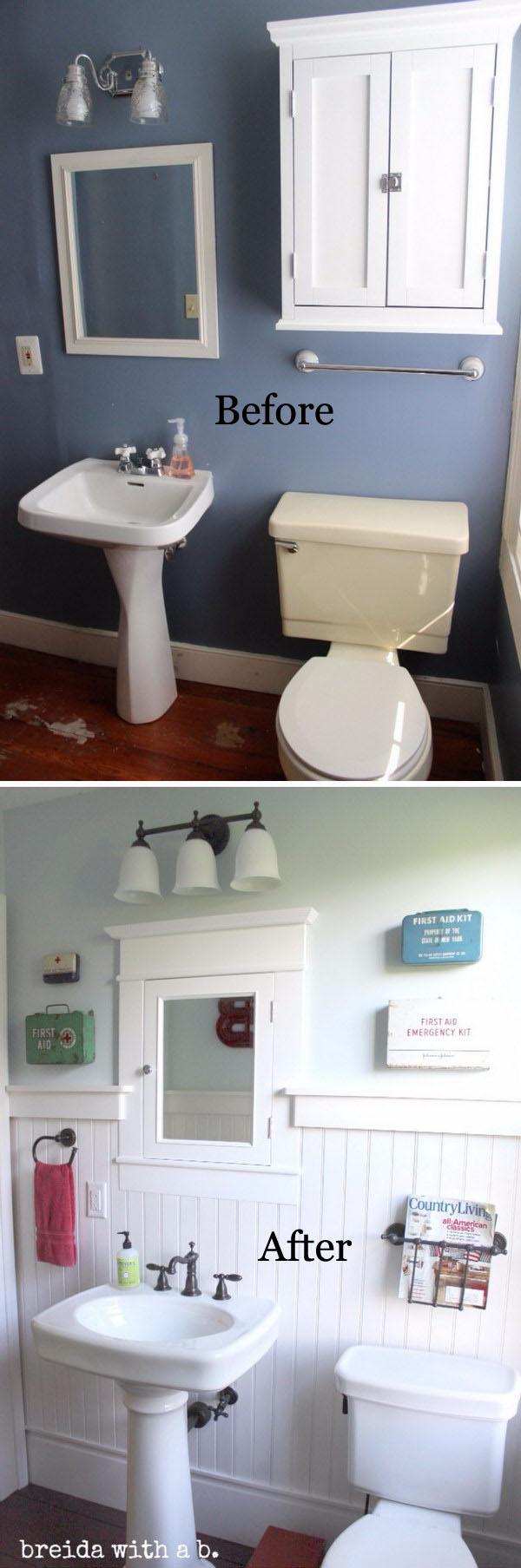 Farmhouse Bathroom Renovation.