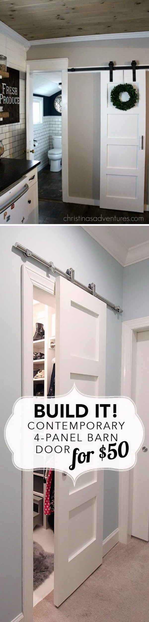 Sliding Doors are a Fabulous Solution when Space is Too Tight for a Standard Hinged Door.