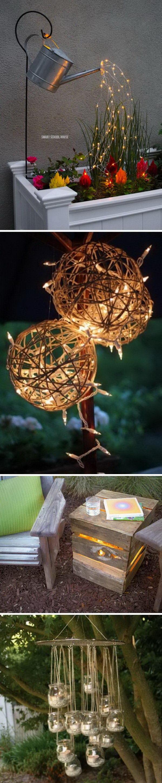 Amazing Outdoor Lighting Ideas for Your Backyard.