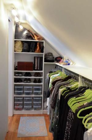 Make an Extra Walk In Closet for Off-Season Clothing Storage.