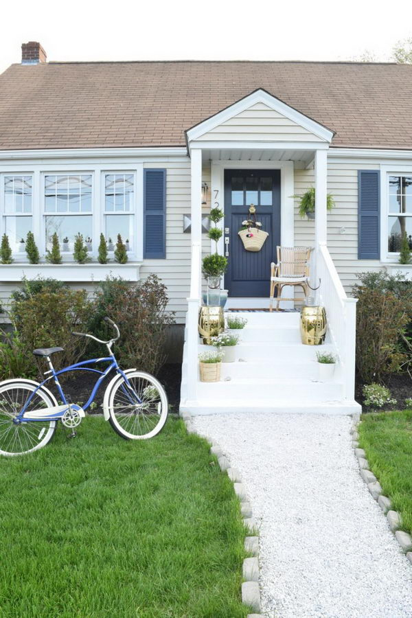Create A Walkway That Will Instantly Beautify Your Front Door.