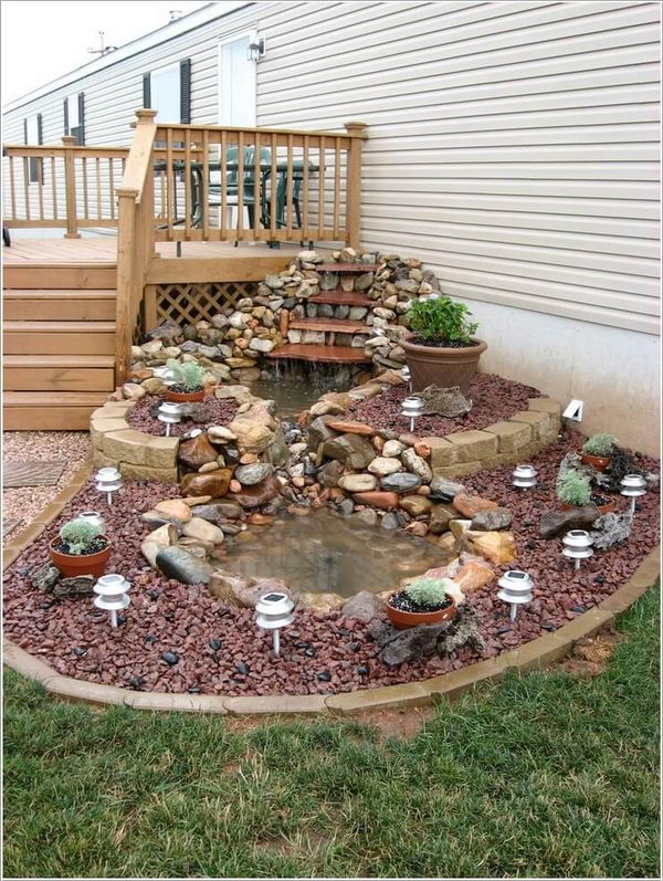 Build a Water Feature for a Front Porch that Everyone Admires.