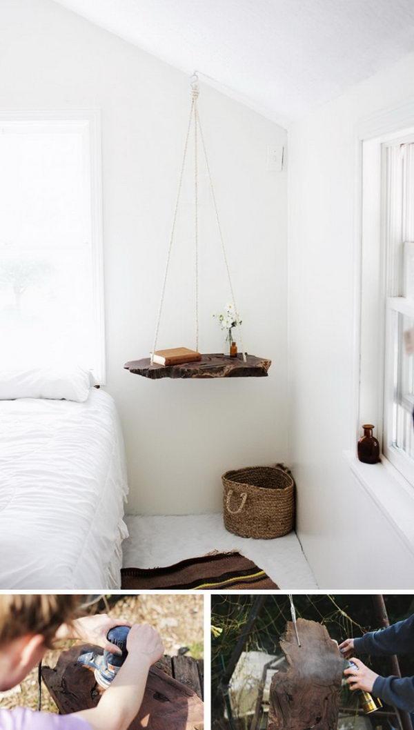 DIY Hanging Table.