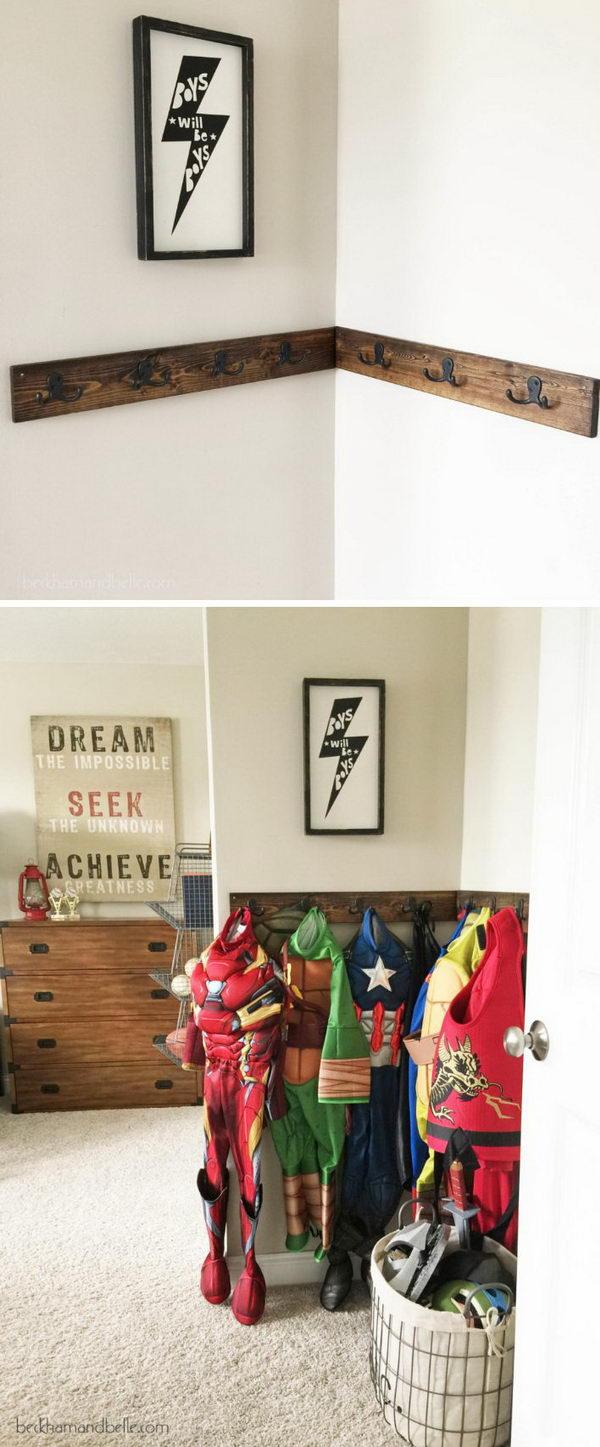 Superhero Dress Corner.