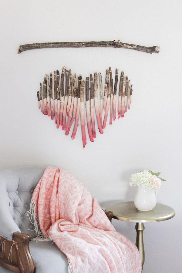 Branch Heart Wall Hanging.