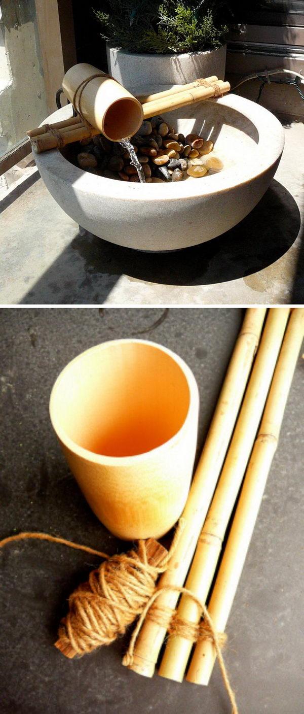Bamboo Fountain.