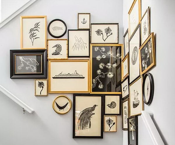 7 Easy Ideas for Decorating a Gallery Wall
