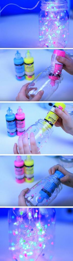DIY Fairy Glow Jar.
