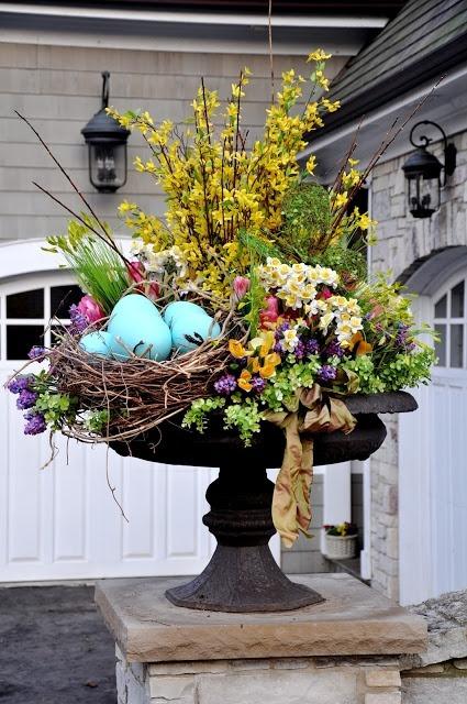 Easter Urn Planter.