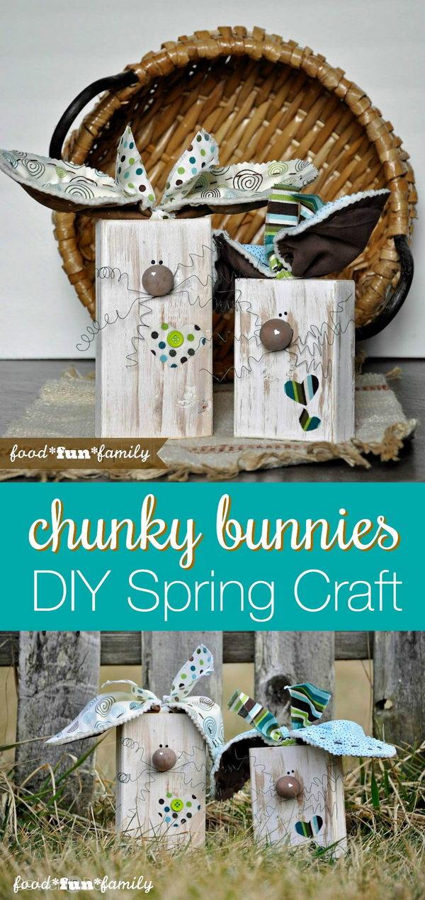 DIY Chunky Bunnies.